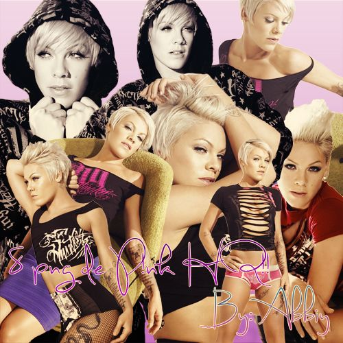 Pack png 07 - P!nk by Abbiy