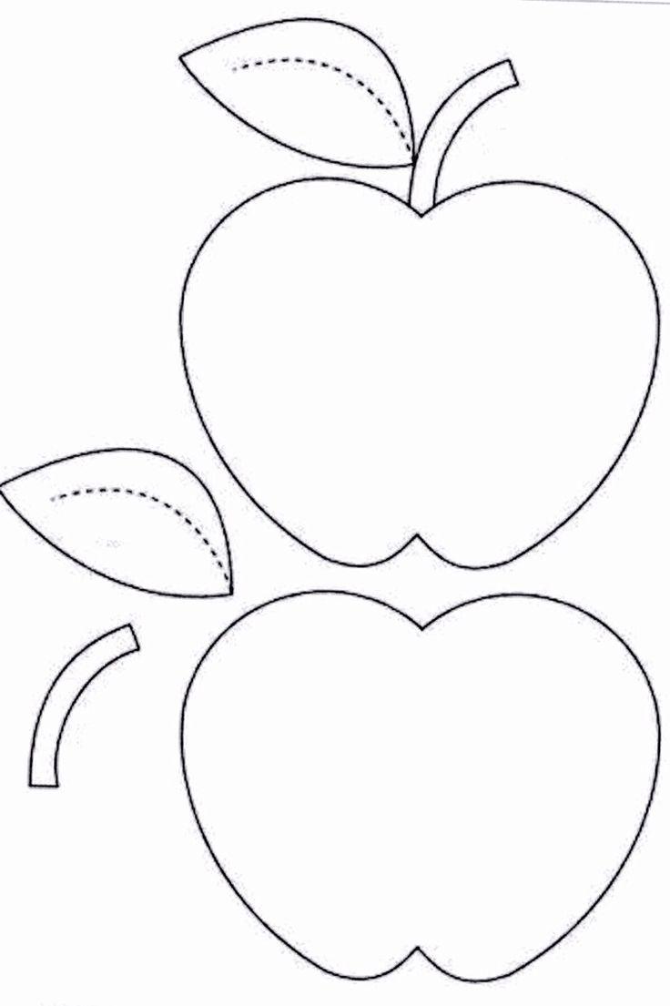 1000 Ideas About Apple Template On Pinterest Owl