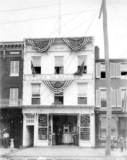 Baltimore's 1st movie theater.