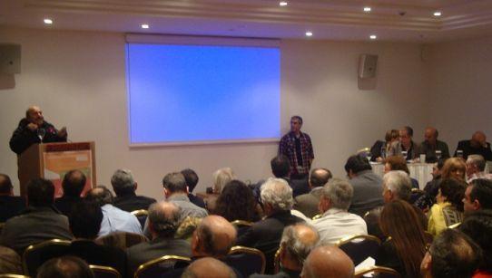 Ο ΚΟΥΤΣΟΜΠΟΛΗΣ : Από το πρωί στη Συνδιάσκεψη του ΣΥΡΙΖΑ ο Φ. Φίλιος...