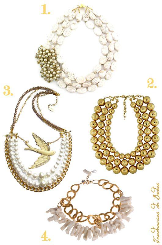 Maxi collares para novias 1 elva fields 2 daniel for Stella and dot jewelry wholesale