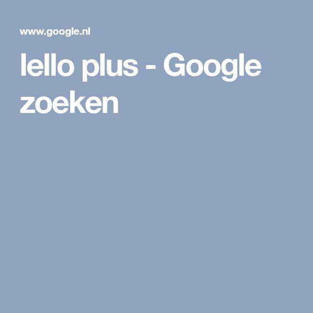 lello plus - Google zoeken