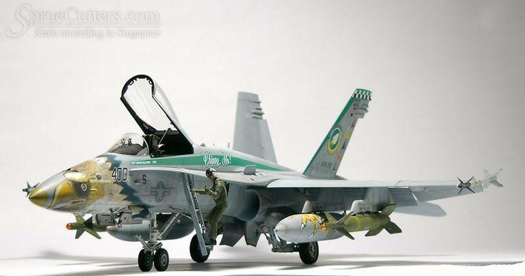 "F-18C ""Chippy Ho"" 1/32 Scale Model"