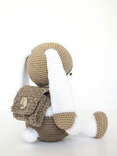 Lulu Papillon de dos Crochet