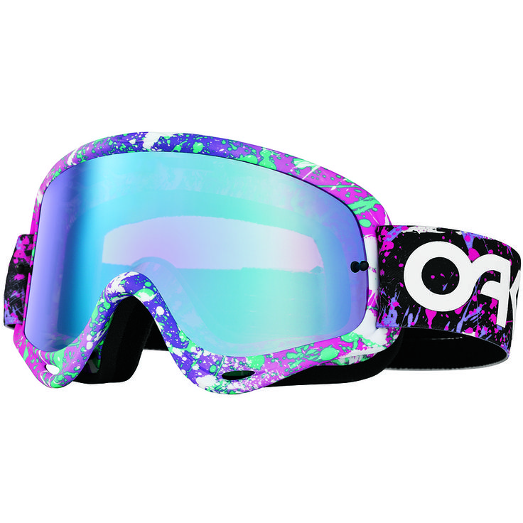 Oakley MX O Frame Factory Splatter Adult Dirt Eyewear @$60