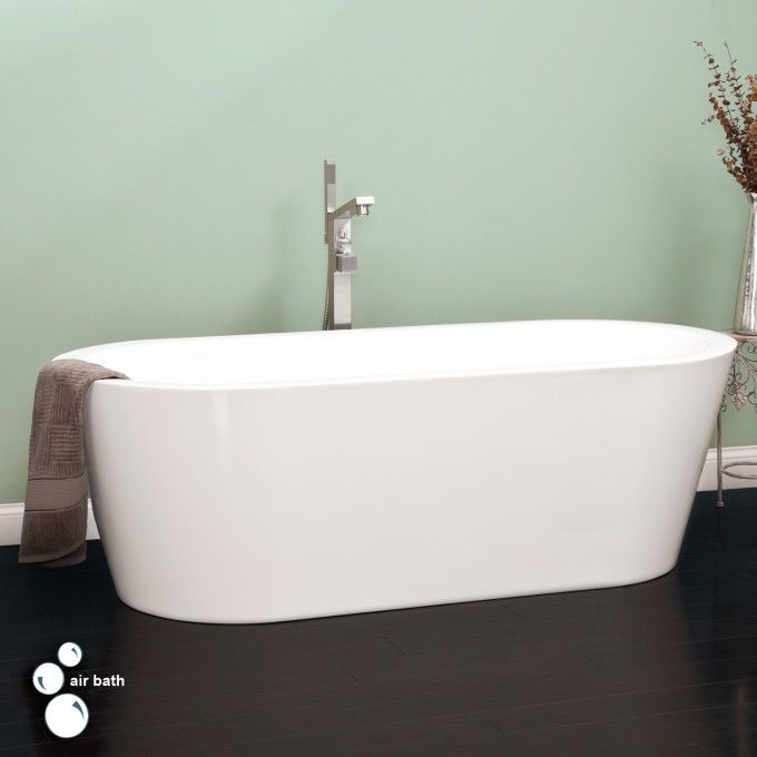 """70"""" Leith Acrylic Air Tub - Bathroom"""