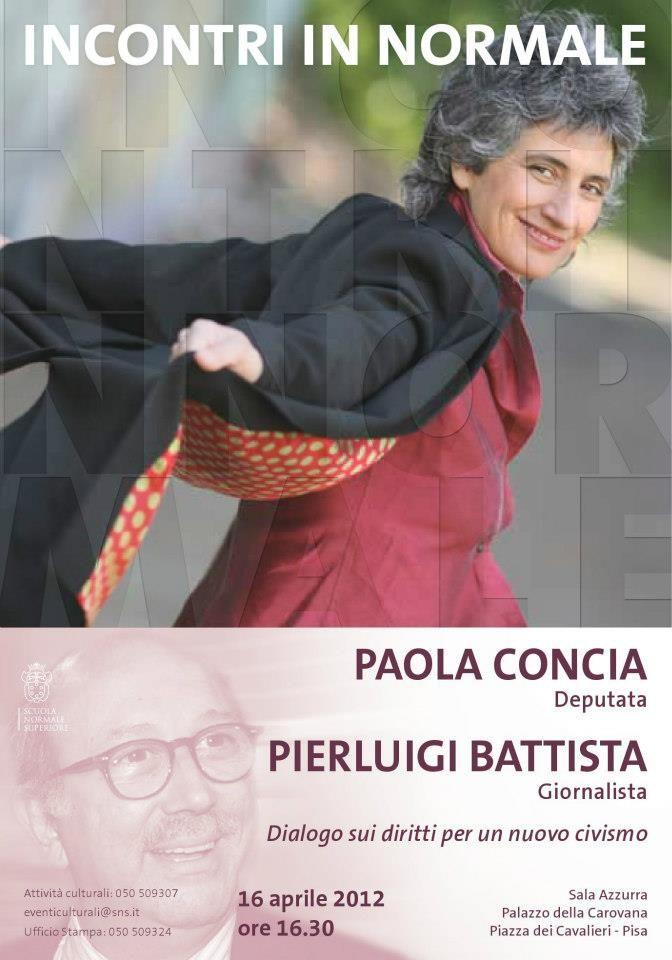 Paola Concia / Pierluigi Battista