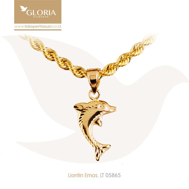 Liontin Emas Dolphin Cukitan Dof Putih Kuning. #goldpendant #goldstuff #gold #goldjewelry #jewelry #pendant #perhiasanemas #liontinemas #tokoperhiasan #tokoemas