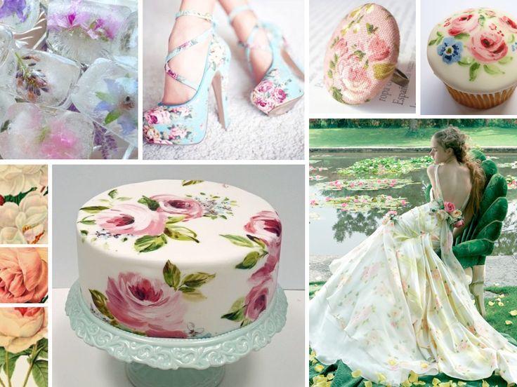 2014 Romantik Flora Print Wedding Ideals!