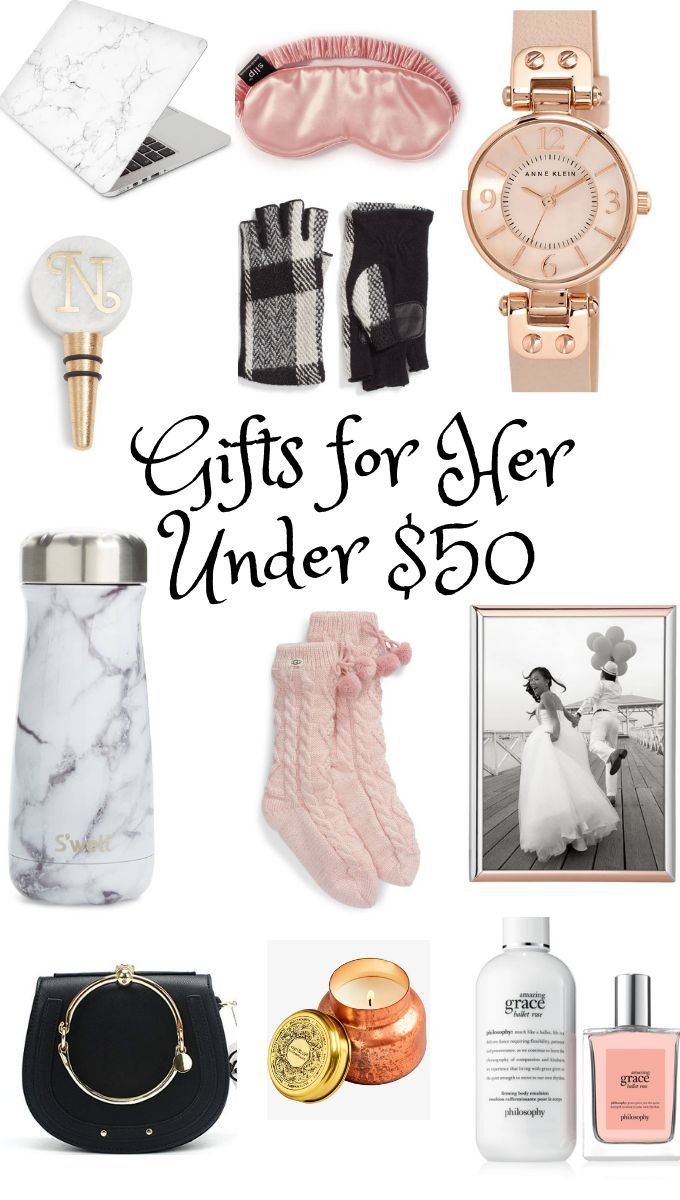 Gift Guide for Her under 50 Cool gifts for women