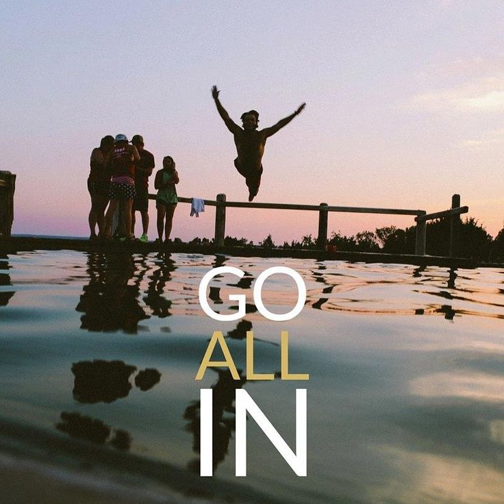 """""""All In"""" in work AND play. I know most hit it hard this week, recovering from the Thanksgiving week. Play hard this weekend, meaning no work for you! Fill up with the peeps you love and come back ready to rock on Monday. #allin #timetoplay #lifeisshort #fun"""
