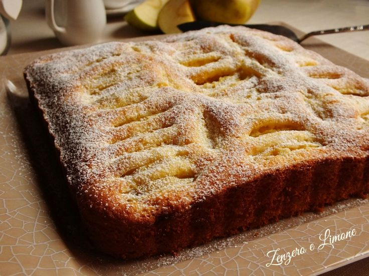 torta di mele - dettaglio