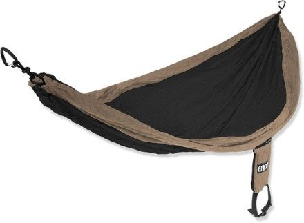 Whether it's your backcountry bed or a permanent fixture at your home, this single-person hammock gives you the freedom to rock with the wind. Available at REI, 100% Satisfaction Guaranteed.