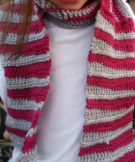 not your average stripe scarf by MomySoso on Etsy, $20.00