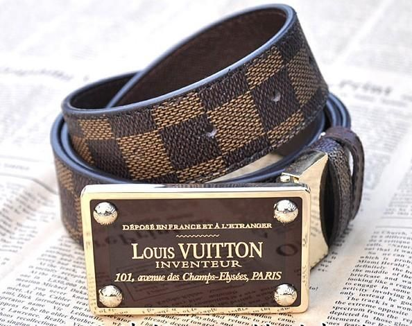 Used Louis Vuitton Men's Belts
