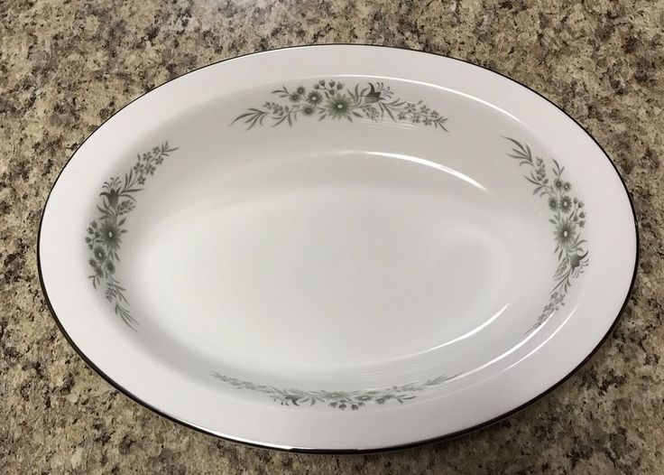 Wedgwood Westbury Oval Vegetable Serving Bowl Dish 10x7.5 | eBay