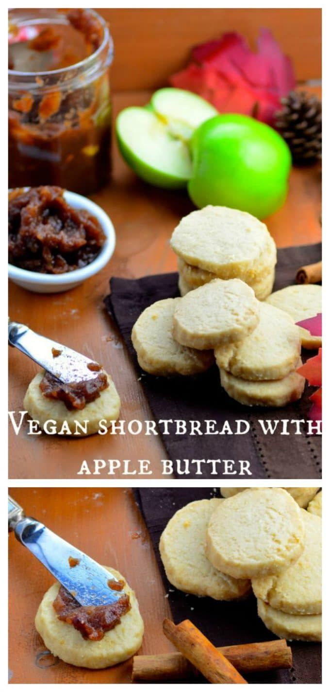 Sweet, cinnamony homemade Apple Butter slathered o…