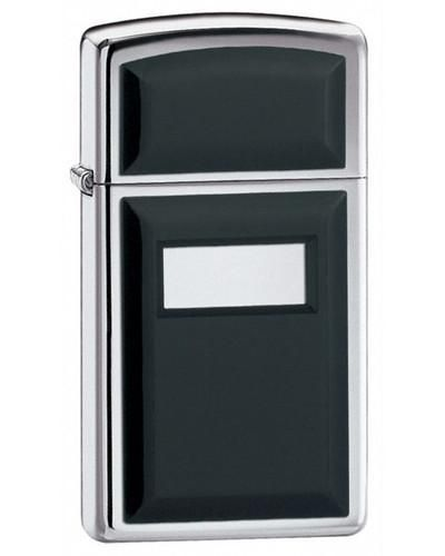 Zippo Slim Ultralite Black Lighter - Oxeme Gifts