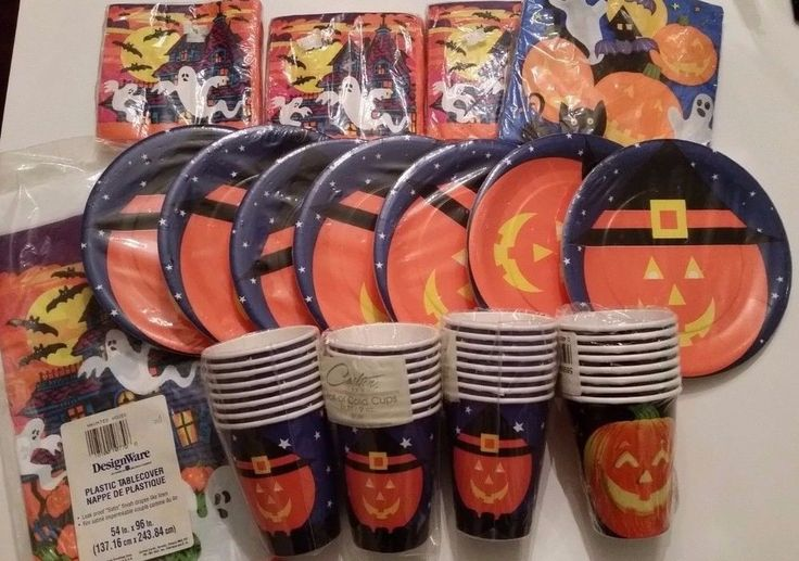 New Huge lot HALLOWEEN Party Supplies PUMPKINS, GHOSTS,HAUNTED HOUSE #MIXEDLOT #Halloween