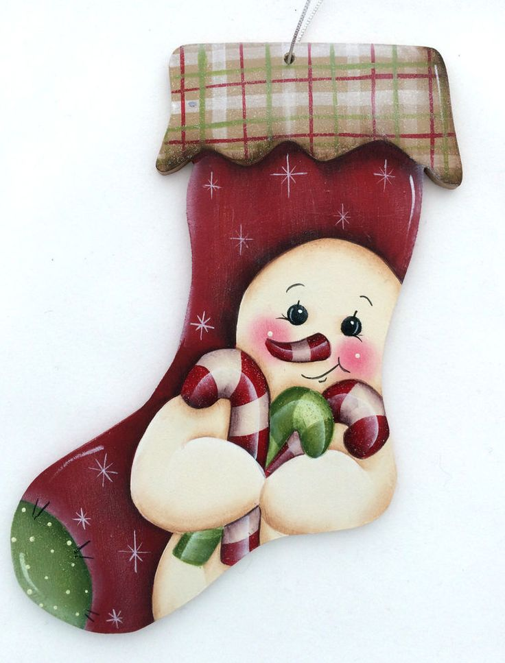 HP  ORNAMENT  snowman stocking