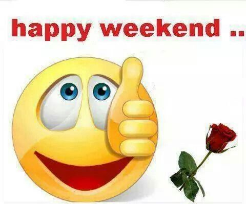 Big thumps up its the Weekend | Weekday Greetings ...