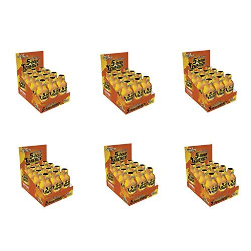 5 Hour Energy Shot Extra Strength Peach Mango 72 Pack of 2 Ounce Bottles *** Details can be found by clicking on the image.