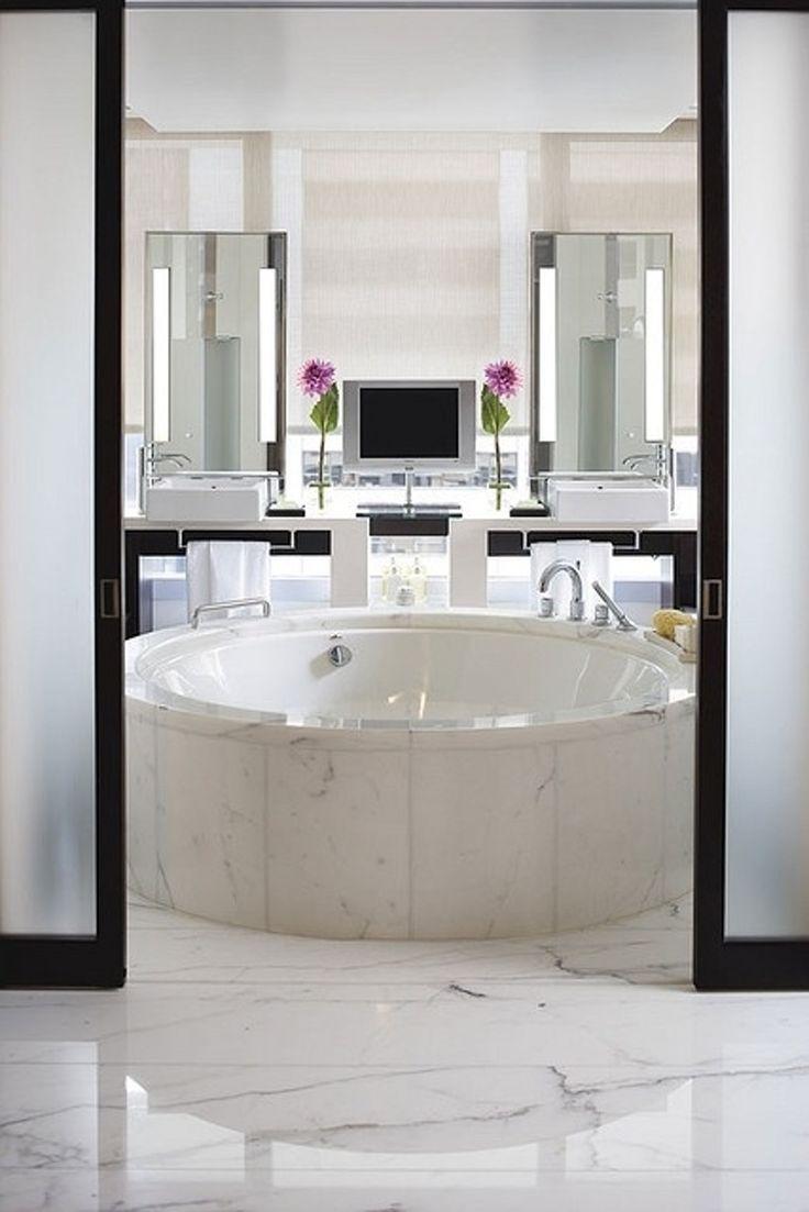 17. noir et #blanc - 44 salles de bain #luxueuses qui seront #totalement Awe vous... → #Inspiration