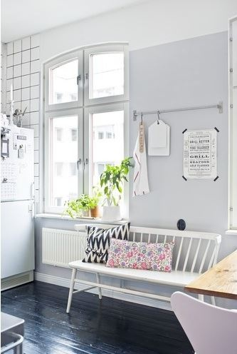 This is the very creative home of blogger and freelance stylist Johanna Laskey from Lovely Life.
