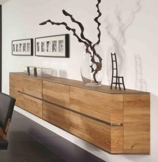 Hngeboard Sideboard Hngeschrank Wohnzimmer Asteiche Eiche Massiv Gelt Bianco 1