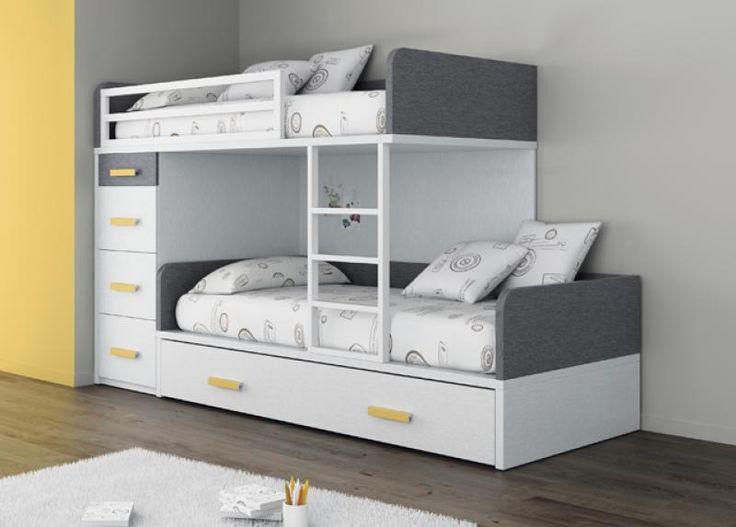 Dormitorio juvenil r52 para ni os y adolescentes for Doppelbett jugendzimmer