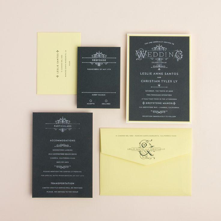 32 best Wedding Invitations: GMC images on Pinterest   Wedding ...