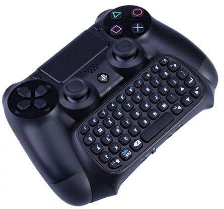 Ps4 dualshock keyboard.