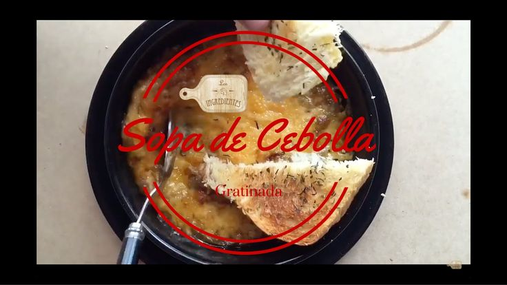 Sopa de Cebolla gratinada Vegetariana  _ Los Ingredientes Receta completa en Youtube Te invitamos a suscribirte en nuestro canal de Youtube: Los Ingredientes, haciendo clic en el siguiente enlace: https://www.youtube.com/channel/UCNoxMvQ4SOfYGX9hNrrq-Jg…