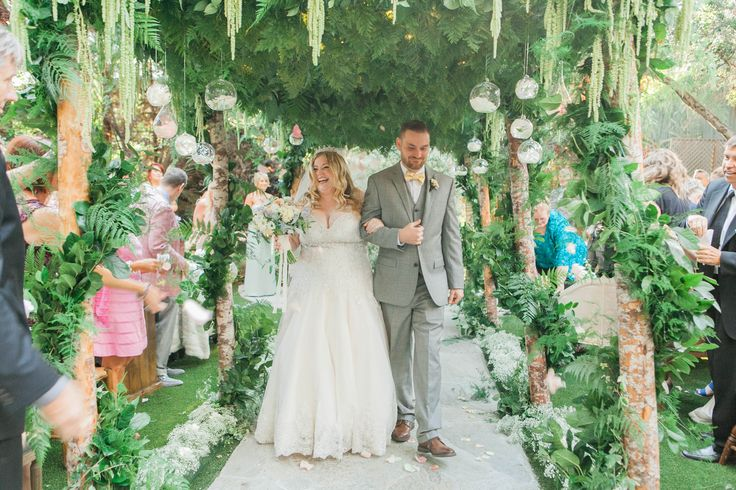 A Whimsical, Romantic Wedding at Calamigos Ranch in Malibu, California