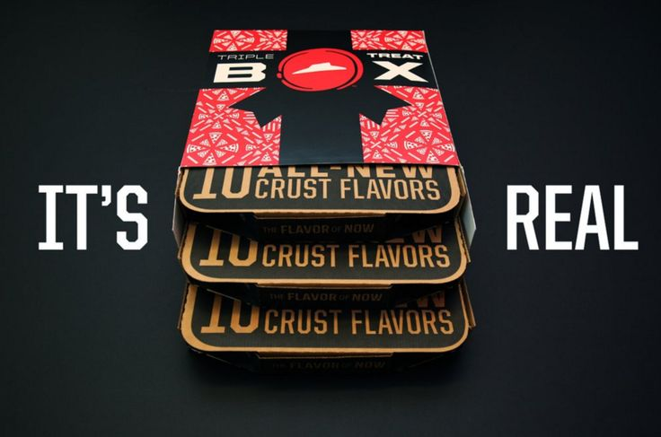 Pizza Hut® Introduces the Triple Treat Box — The Dieline - Branding & Packaging