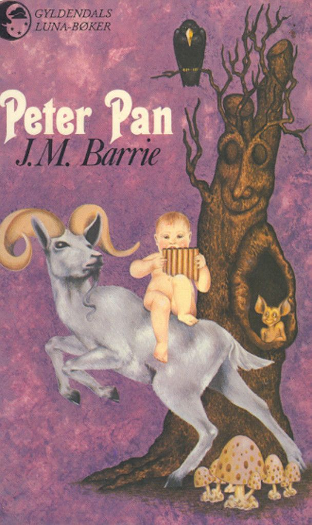 """Peter Pan"" av James Matthew Barrie"