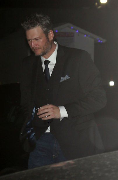 Blake Shelton arrives the Voice after party in Los Angeles