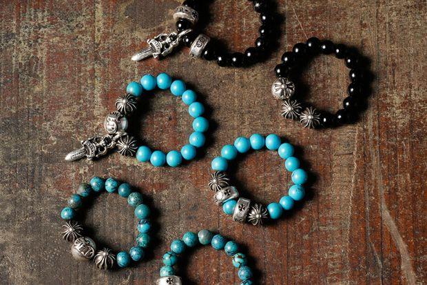 Chrome Hearts Bead Charm Bracelets