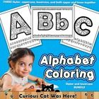 Alphabet:  Alphabet Coloring Sheets BUNDLE:  Great Value!  This alphabet bundle set contains all of our alphabet coloring pages:  Uppercase letters...