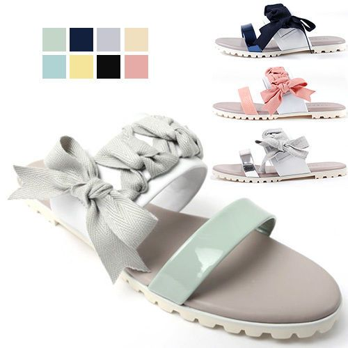 NEW Summer Women Ribbon Sandals&Handmade leather shoes&beatiful lace 8color AU