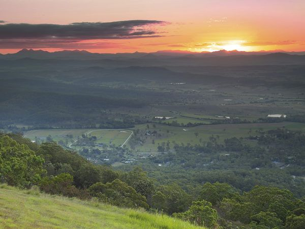 """Known as """"the green behind the gold"""", the lush environs of Tamborine Mountain are a nature-lovers paradise."""