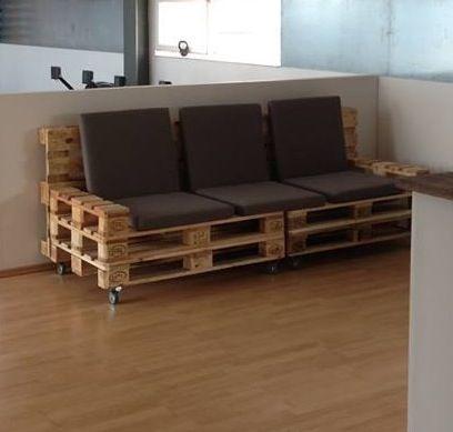 12 mejores im genes sobre tarimas ideas en pinterest for Tarimas de madera para muebles