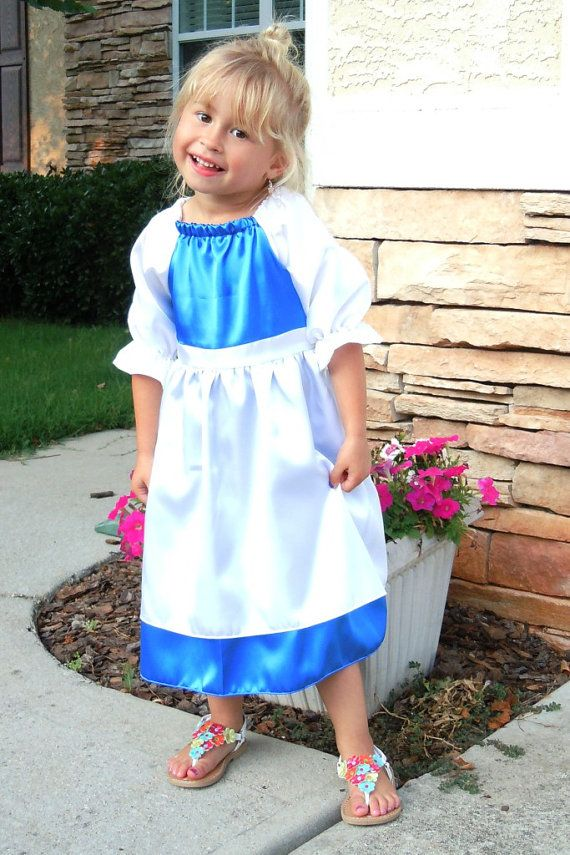 Belle princess dress costume dress up outfit by tootietots on Etsy, $29.95