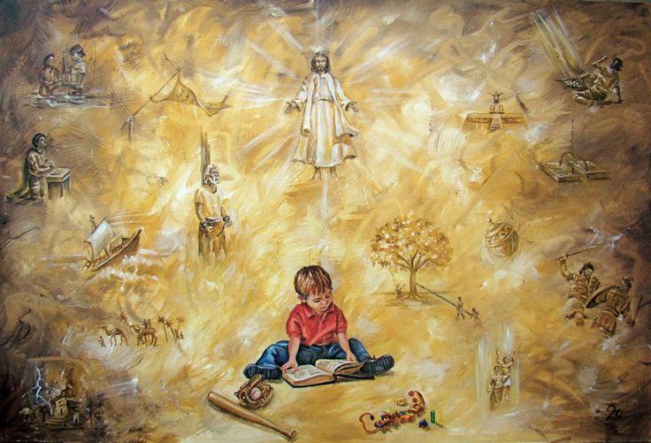 Book of Mormon Stories - Various Sizes - By Jolynn Forman Children's Art