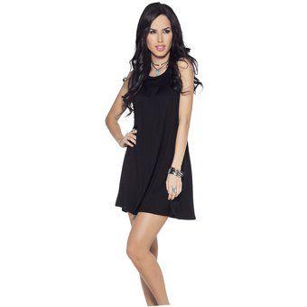 Vestido Juvenil Femenino Marketing Personal 64820 Negro
