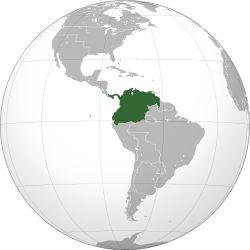 Ubicación de Gran Colombia