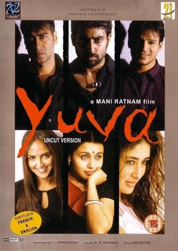 awesome Yuva (Ajay Devgan / Abhishek Bachchan / Kareena Kapoor / Hindi Film / Bollywood Movie / Indian Cinema DVD)