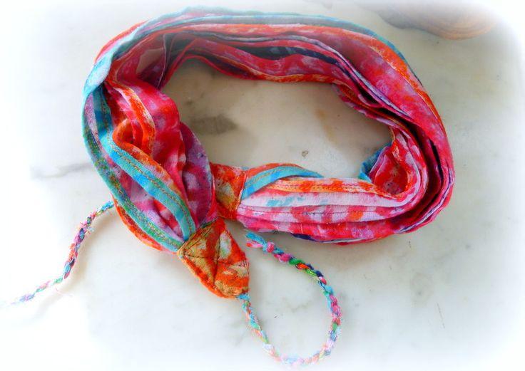 Foulard - Festival -Chèche - Keffieh -Couleurs pop : Echarpe, foulard, cravate par touchfrenchy