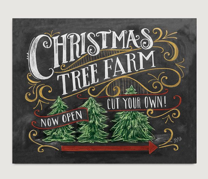 christmas tree farm sign lumberjack decor christmas home decor chalkboard art rustic - How To Start A Christmas Tree Farm