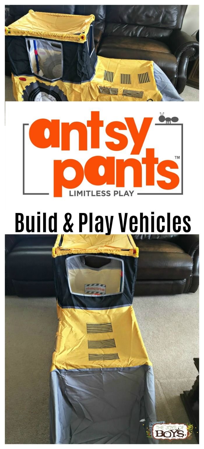 See why kids LOVE Antsy Pants Build and Play Vehicles! These are the perfect gift to encourage creativity and imaginative play. AD